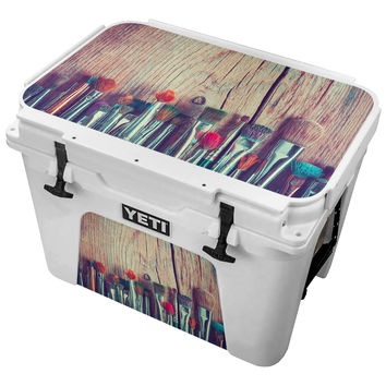 Worn Paint Brush Collection Skin for the Yeti Tundra Cooler