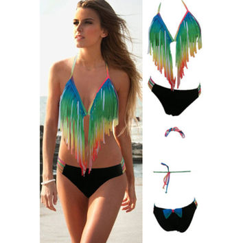 Summer Sexy Bikini Set Ladies Swimwear Bathing Suits For Women = 4465848260