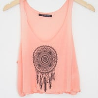 Dream Catcher Crop Tank