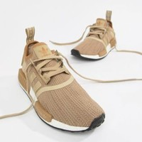 adidas Originals NMD R1 Sneakers In Beige at asos.com