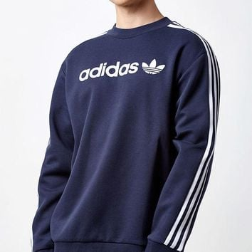 ONETOW adidas Linear Crew Neck Sweatshirt at PacSun.com