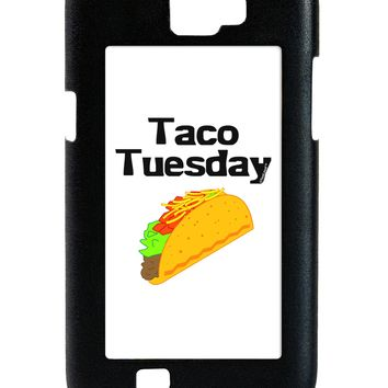 Taco Tuesday Design Galaxy Note 2 Case  by TooLoud