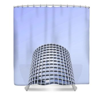 Urban Architecture - Tottenham Court Road, London, United Kingdom 2a - Shower Curtain