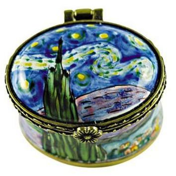 Van Gogh Starry Night Box, Small 1.5L
