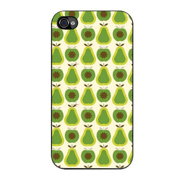 orla kiely apples and pears iPhone 4 4s 5 5s 5c 6 6s plus cases