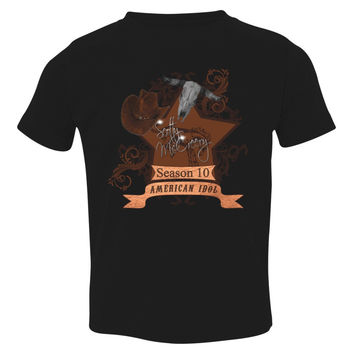 Scotty McCreery Country Style Season 10  Bull Skull Toddler T-shirt