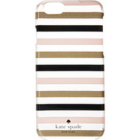 Kate Spade New York Watch Hill Stripe Clear Resin Phone 6 Case