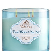 3-Wick Candle Fresh Water & Sea Salt