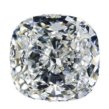 Diamond Veneer Cubic Zirconia Intensely Radiant Loose Cushion Square