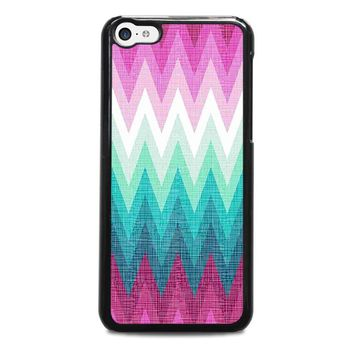 OMBRE PASTEL CHEVRON Pattern iPhone 5C Case Cover