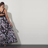 Rose Floral Two Piece -