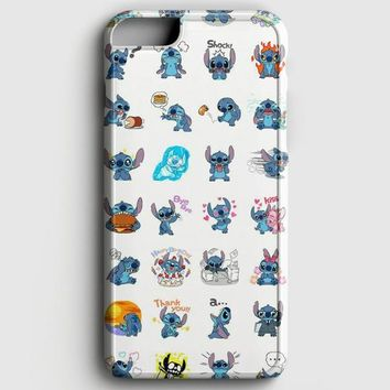 Lilo And Stitch Pattern iPhone 8 Case | casescraft