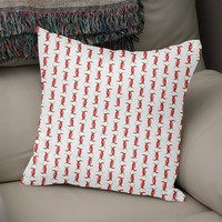 «Chili peppers», Numbered Edition Coussin by Savousepate - From 25€ - Curioos