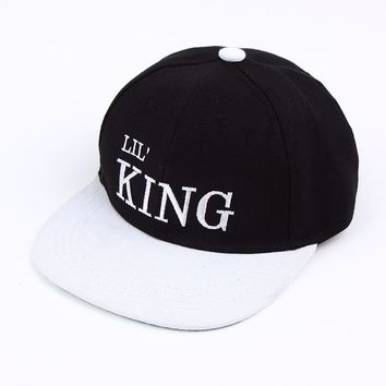 Lil' King Lil' Queen - Embroidered Cute, Graphic, Cool Baseball Cap - Sports & Leisure Hat