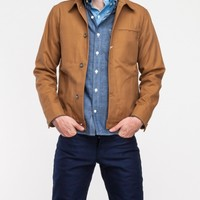 Rogue Territory Canvas Supply Jacket in Camel
