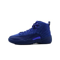 hcxx Air Jordan 12 Retro  Deep Royal
