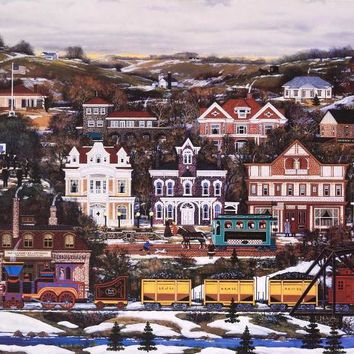 Pride of Pennsylvania - Limited Edition Lithograph on Paper by Jane Wooster Scott