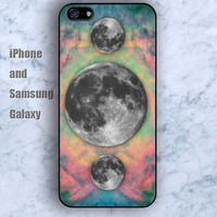 Watercolor Earth design colorful iPhone 5/5S case Ipod Silicone plastic Phone cover Waterproof