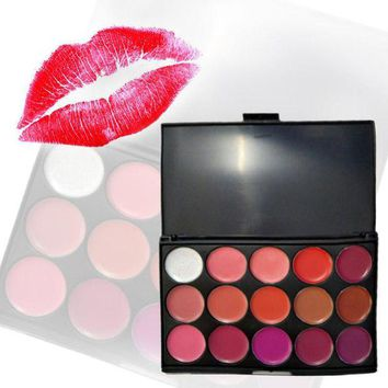 VONETDQ 15 Colour Trendy Contour Kit Makeup Lipstick Concealer Camouflage Neutral Palette To Fashion Graceful Women Girls 88 H7J