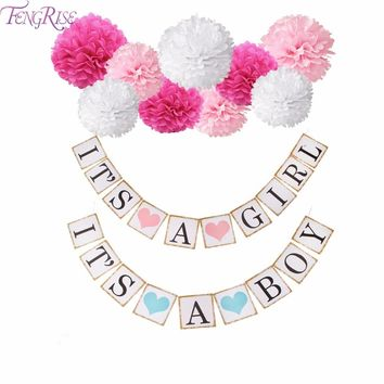 Baby Shower, baby birthday, gender announcement party decorations