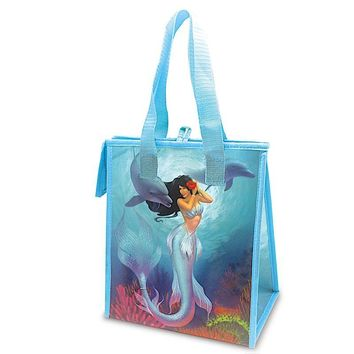 """Island Heritage Mermaids Jewel/Sunny"" Insulated Cooler Bag, Small"