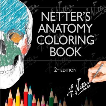 Netter's Anatomy Coloring Book: with Student Consult Access, 2e (Netter Basic Science) 2nd Edition