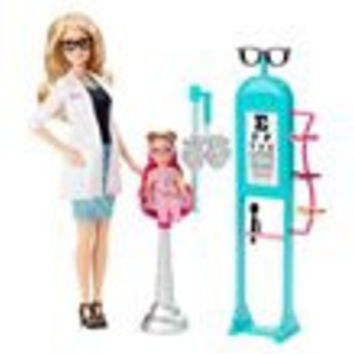 Barbie Careers Eye Doctor Barbie Playset