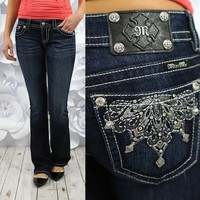 Morning Glory Bootcut Jeans by Miss Me