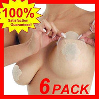 Adhesive Uplifting Breast Tapes w Nipple Covers
