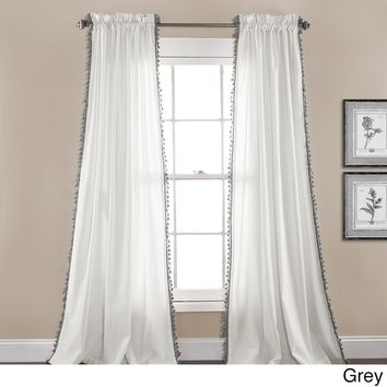 Lush Decor Urban Tassel Window Curtain Set | Overstock.com Shopping - The Best Deals on Curtains