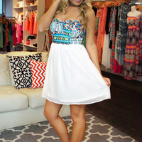 When In Rome Dress - Ivory