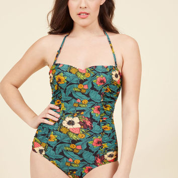 Pretty Much Paradise One-Piece Swimsuit