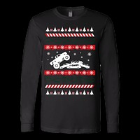Ugly christmas monster sweater