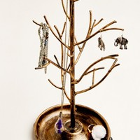 Bronze Tree Jewelry Holder