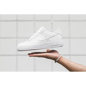 AA QIYIF Nike Air Force 1 '07 - White/White