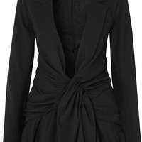 Jacquemus - Rafeal knotted canvas blazer