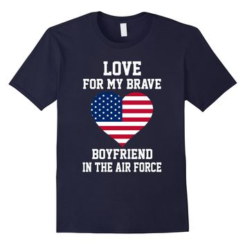 Proud US Air Force Girlfriend Love Gift T-shirts