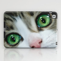 Kitty Cat iPad Case by Alice Gosling