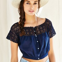 Vintage Button Top - Urban Outfitters