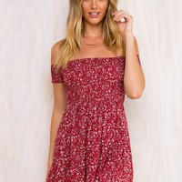 The Sun Slumber Mini Dress