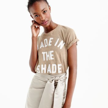"""Made in the shade"" T-shirt : Women gallery tees 