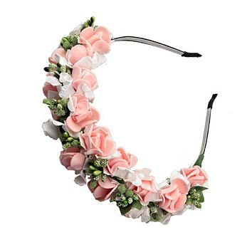 Set of 10 Pretty & Stylish Flower Pattern  Hair Accessories
