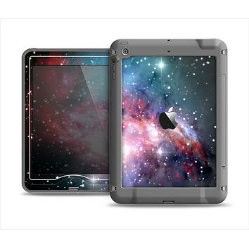 The Colorful Neon Space Nebula Apple iPad Mini LifeProof Nuud Case Skin Set