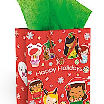 "Gift Bag ""Holiday Island Yumi"", Medium"