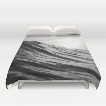 Motion of Water Duvet Cover by Nicklas Gustafsson