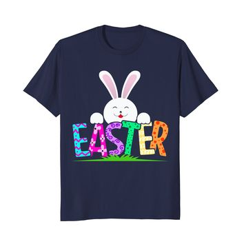Cartoon Easter Bunny Toddler | Funny Happy Easter 2018 Shirt