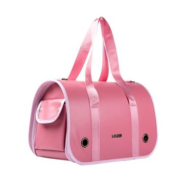 Leather Pet Bags Portable Breathable Pet Backpacks Pets Out Large Space Bags Messenger Pet Bags Fold Dogs