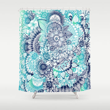 Hippie Vibes Shower Curtain by rskinner1122