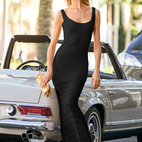 Sheer-bottom Maxi Dress - Victoria's Secret