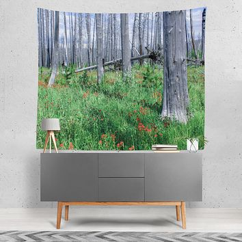 Glacier National Park, Eastern Forests Wall Tapestry